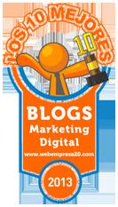 ganadores mejores blogs 2013