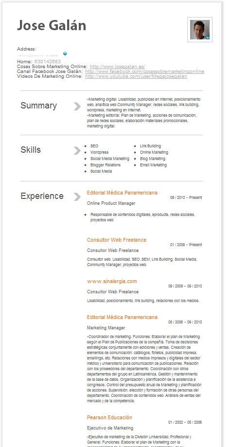 linked in resume builder curriculum vitae curriculum vitae linkedin - Linkedin Cv Builder