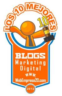 galardon mejores blogs de marketing digital