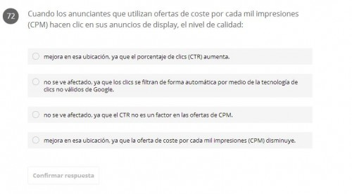 pregunta examen display e1402761443337 Examen Avanzado de la red de Display de Adwords