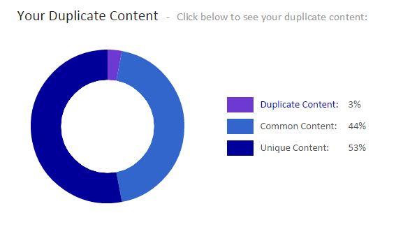 contenido duplicado