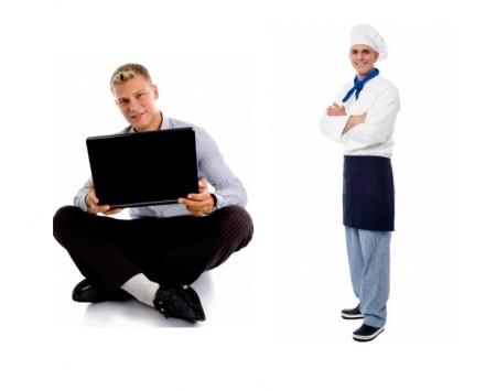 cocinero y blogger