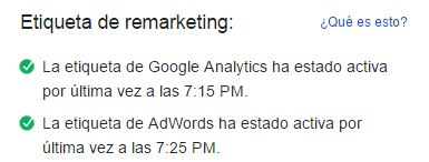 etiqueta adwords