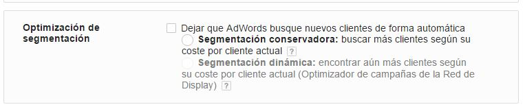 segmentaciones remarketing adwords