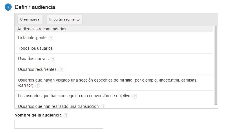 audiencias analytis Remarketing en Adwords. La guía definitiva