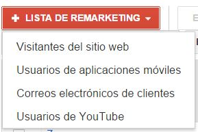 lista remarketing Remarketing en Adwords. La guía definitiva