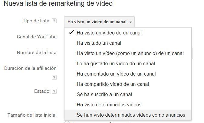 remarketing youtube