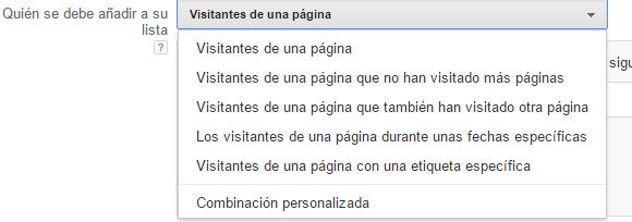 visitantes pagina Remarketing en Adwords. La guía definitiva
