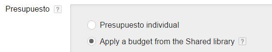 presupuesto adwords