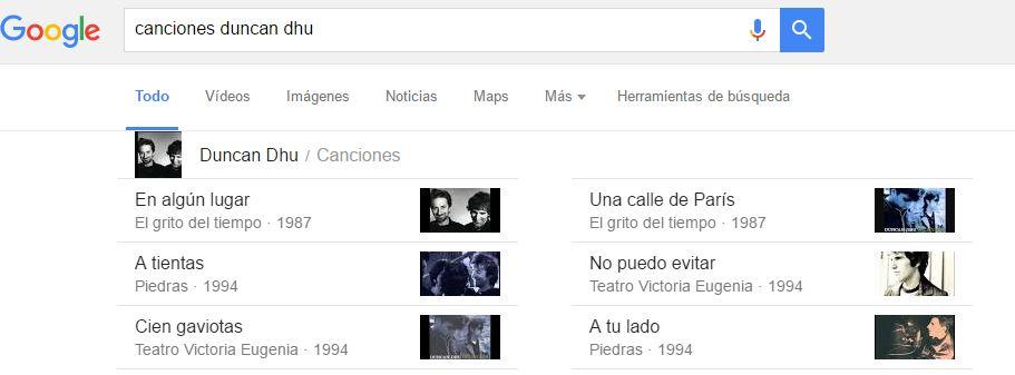 google canciones