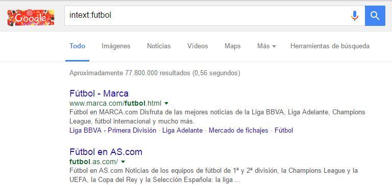 google intext