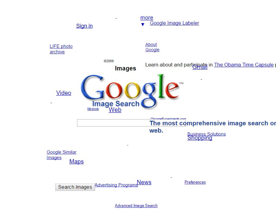 google gravity espejo bajo agua
