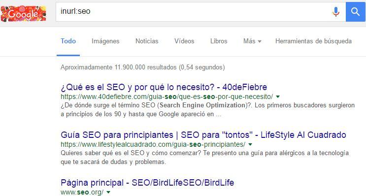 google inurl