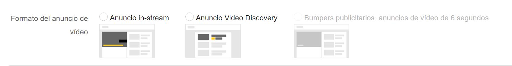 formatos videos