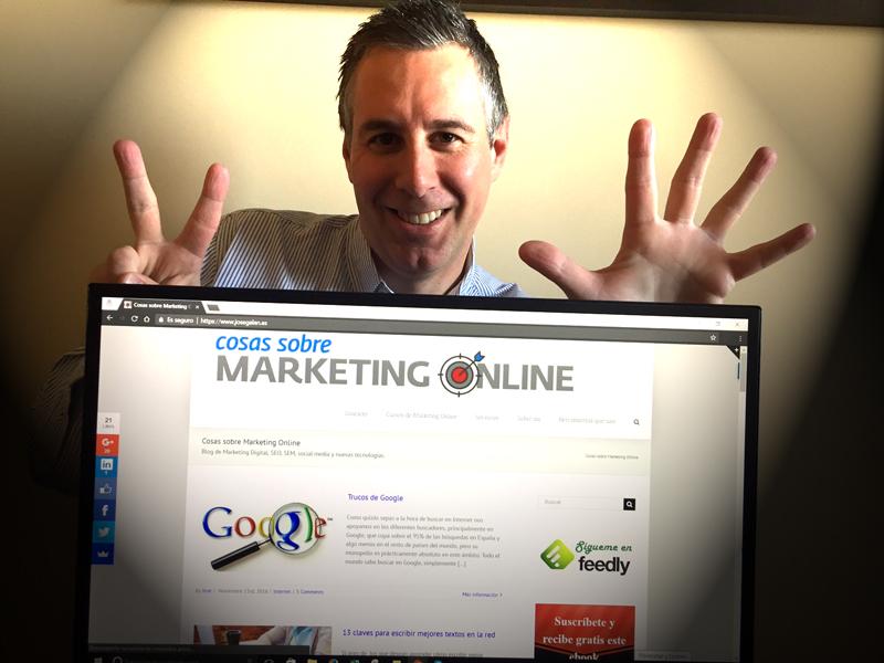 7 años cosas sobre marketing online