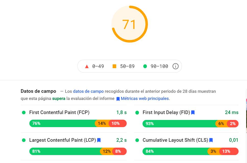 page speed google